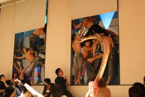 Installation with Kaym  Dance group