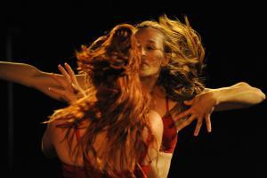 Subtext.  Dancers: Elinor Chertock, Shani Braitner