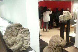 PeepDance. Archeology Gallery, Hecht Museum, Haifa